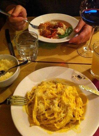 Enoteca Boccadama : les plats