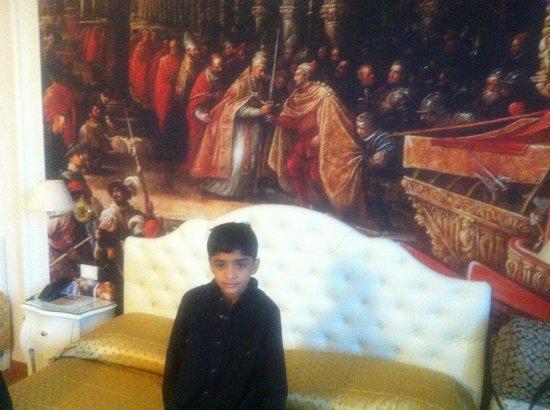 Hotel Al Vivit: Bed room