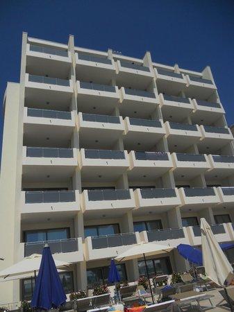 Hotel Lido Bibione Beach: Hotel Lido lato fronte mare