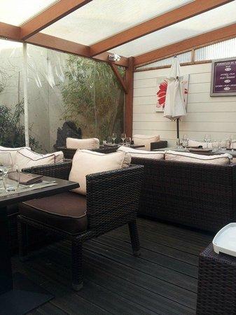 Le Jardin Delice : terrasse