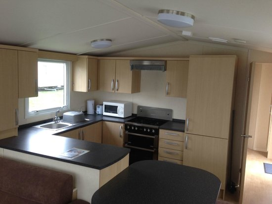 The Orchards Holiday Park   Haven: Typical Prestige Kitchen