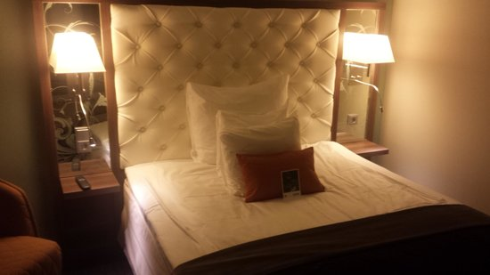 Clarion Hotel Stockholm : Super chambre !! et super literie !!