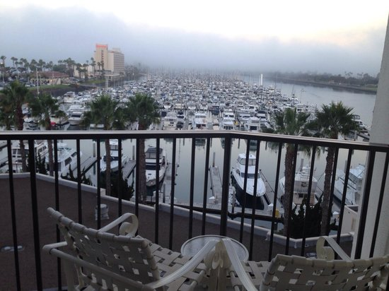 Marriott Marquis San Diego Marina: Our balcony :)