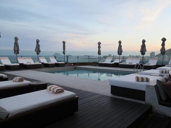 Porto Bay Rio Internacional Hotel: rooftop 'pool'