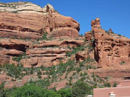 Enchantment Resort: From our patio