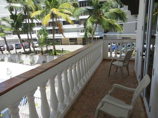 Acacia Boutique Hotel: Balcony
