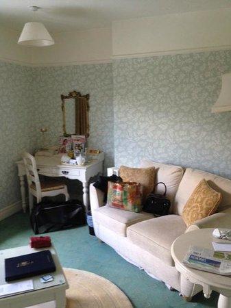 Headlam Hall Hotel Spa & Golf: Garth Suite Sitting room