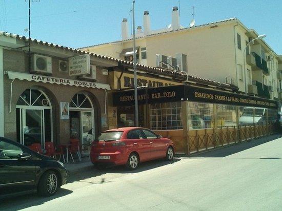 Restaurante Bar...Tolo: Fachada del bar Tolo
