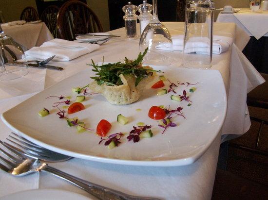 Heworth Court Hotel: Parmesan Basket