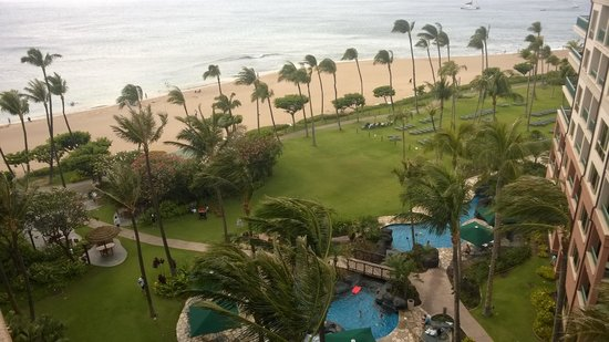 Marriott's Maui Ocean Club  - Lahaina & Napili Towers: View from our room.