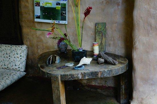 Ecoaldea Kapievi: New Dining area