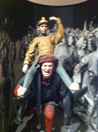 Dublinia: Experience Viking and Medieval Dublin : Lads having the craic !