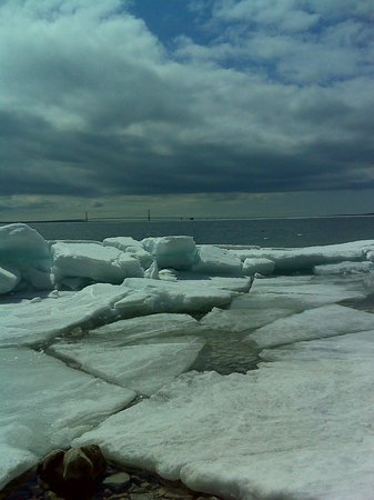Grand Hotel: Mackinac Ice Cubes, April, 2014