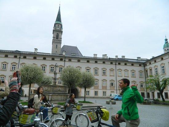 Fraulein Maria's Bicycle Tours : en el tour