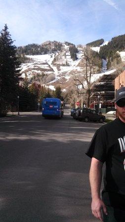 Limelight Hotel Aspen: a view