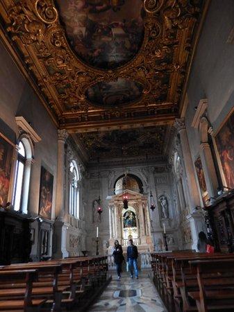 Basilica dei Santi Giovanni e Paolo (San Zanipolo): cappella laterale intarsiata interamente