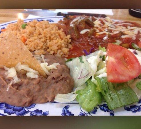 Casa Gazcon Mexican Grill: Chile relleno