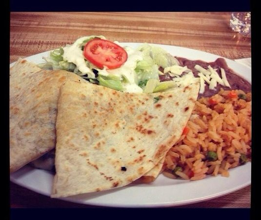 Casa Gazcon Mexican Grill: Quesadilla