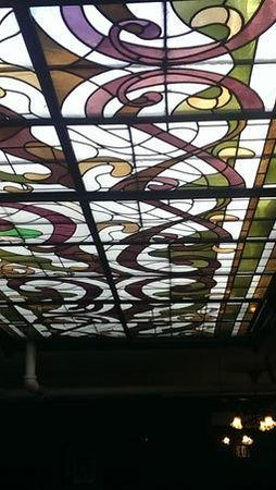 Queen Anne Hotel : Great skylights throughout the hotel.