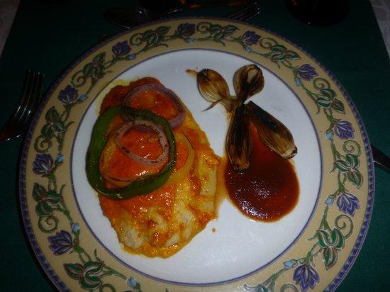 Hotel Riu Palace Riviera Maya: Comida restaurant mexicano