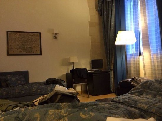 Domus Mariae Benessere: Find the tv if you can see it