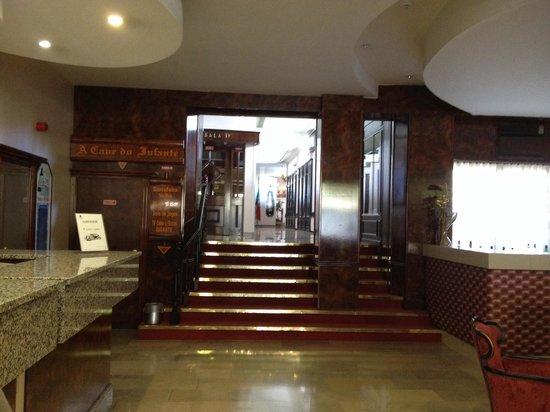 Hotel Afonso V : entrada del hotel