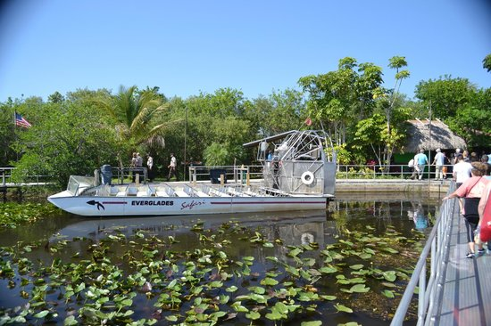 Everglades Safari Park: Air boat