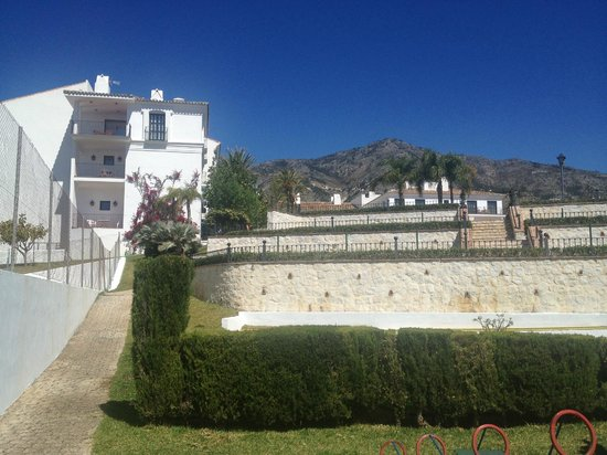 ILUNION Hacienda del Sol: the view from the bottom of the grounds