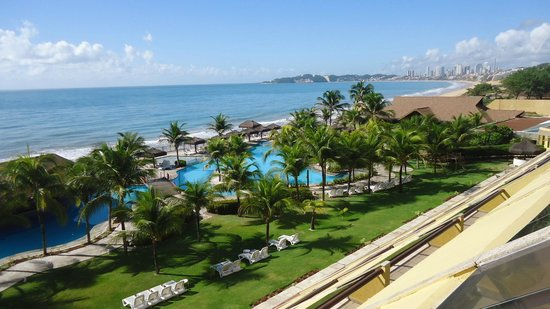 Prodigy Beach Resort Natal: Vista da janela do quarto.