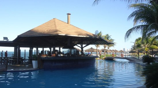 Prodigy Beach Resort Natal: Bar na psicina