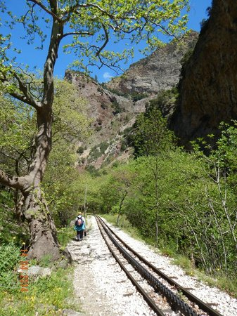 Vouraikos Canyon - Cog Railway : View