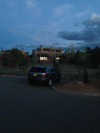 Four Seasons Resort Rancho Encantado Santa Fe: View of our Casita at Dusk