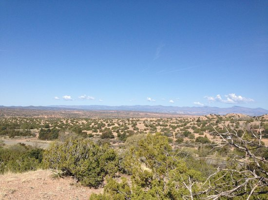Four Seasons Resort Rancho Encantado Santa Fe: View from hiking trail
