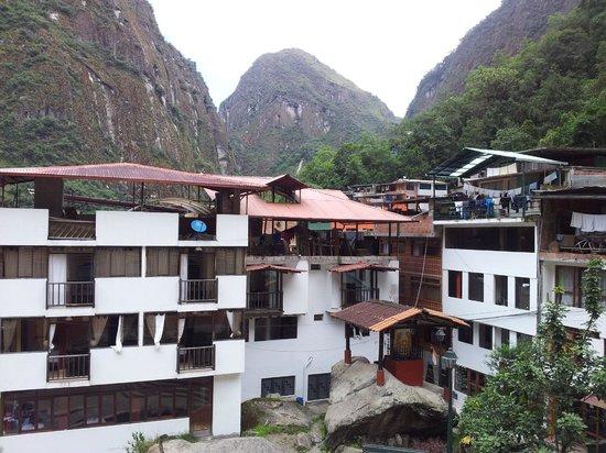 Taypikala Hotel Machupicchu : вид из номера