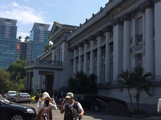 Ho Chi Minh City Museum: 玄関付近