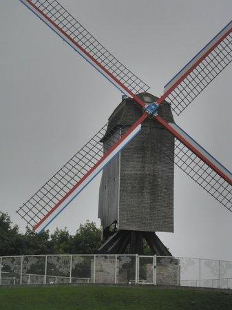 St Janshuis and Koelewei Mills: Molens op de stadswal van Brugge