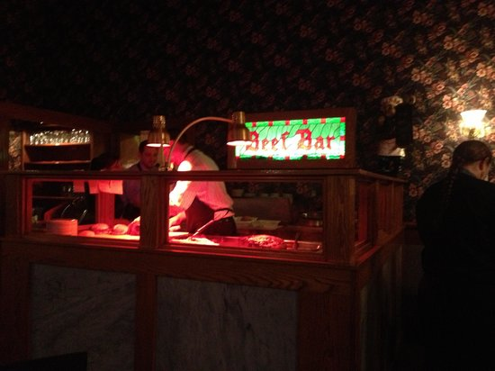 The Beefeaters Restaurant: Beef Bar