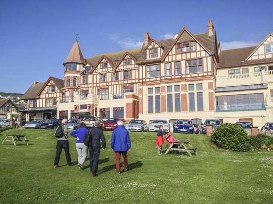The Woolacombe Bay Hotel: Hotel by day