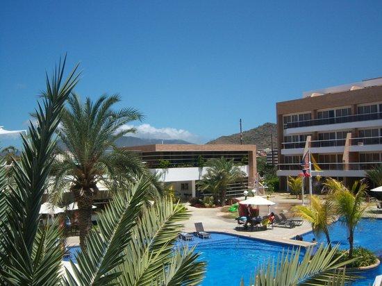 Margarita Real Boutique Hotel: vista desde el balcon terraza