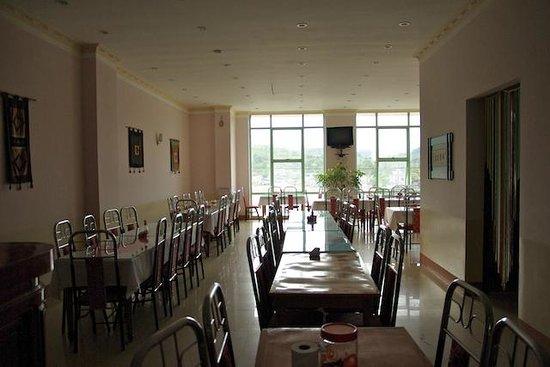 Cong Fu Hotel: salle de restaurant