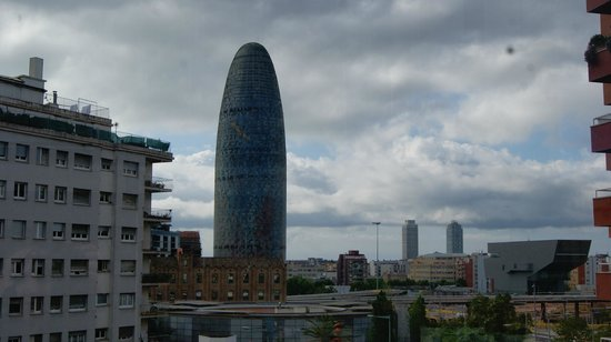 Urbany Barcelona Hostel : View from the room