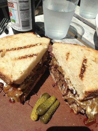 Olive & Thyme: Short Rib Sandwich