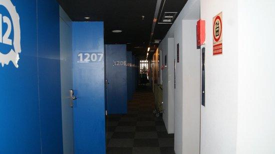 Barcelona Urbany Hostel : Rooms on the 12th floor