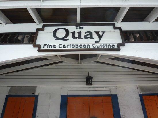 Quay Bar and Grill: insegna