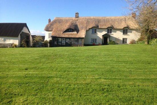 Higher Eggbeer Farm: House