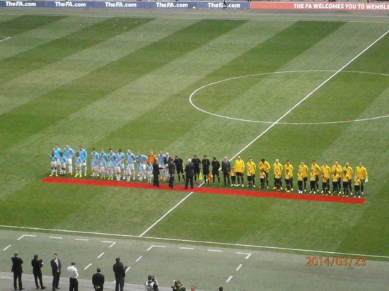 Wembley Stadium: Line Up 2