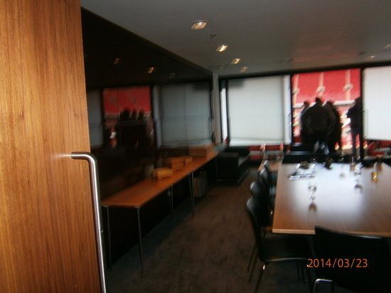 Wembley Stadium : Bad Pic of lounge at 6.00pm, time to leave lounge.