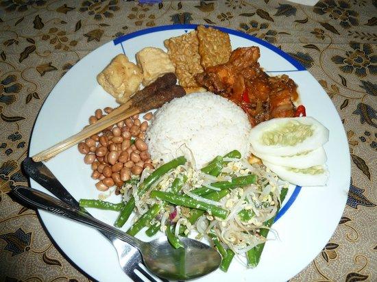 Bali Homestay Cepaka : Gourmet dinner