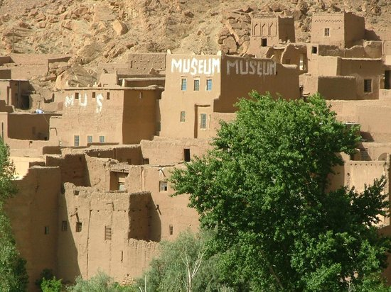 Tinerhir, Maroc : the museum is 10 minutes walking from toudra gorges