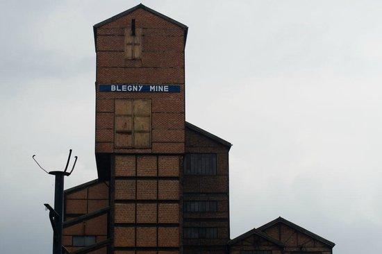 Blegny-Mine: Ingang